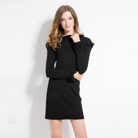 Knitted Sweater Dress Women - SINCOS CLOTHING WOMAN ONLINE CHEAP AFTERPAY DRESSES PLUS SIZE ZIPPAY