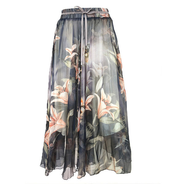 Slim Pleated Long Skirt - SINCOS CLOTHING WOMAN ONLINE CHEAP AFTERPAY DRESSES PLUS SIZE ZIPPAY WISH ALIEXPRESS GOOGLE