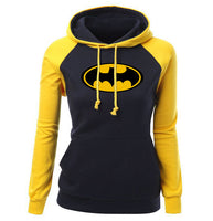 Batman Print Hoodies - SINCOS CLOTHING WOMAN ONLINE CHEAP AFTERPAY DRESSES PLUS SIZE GOOGLE FASHION NEW STYLE HOT SEXY PARTY JUMPSUITS TOP TEES SUITS BLAZER JACKETS COATS HOODIES SWEATSHIRTS FLORAL BUSINESS