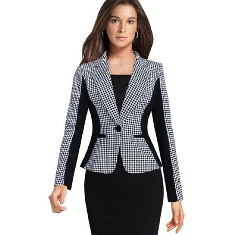 Black & White Blazer - SINCOS CLOTHING WOMAN ONLINE CHEAP AFTERPAY DRESSES PLUS SIZE GOOGLE FASHION NEW STYLE HOT SEXY PARTY JUMPSUITS TOP TEES SUITS BLAZER JACKETS COATS HOODIES SWEATSHIRTS FLORAL BUSINESS