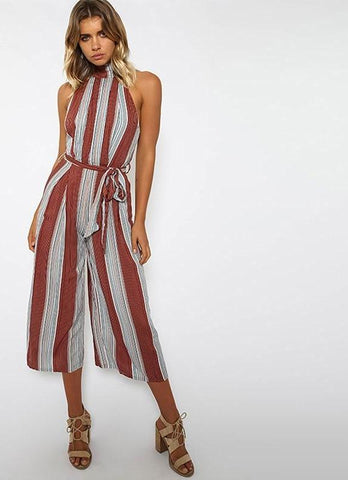 4f6f185190f Wide Leg Backless Jumpsuit - SINCOS CLOTHING WOMAN ONLINE CHEAP AFTERPAY  DRESSES PLUS SIZE ZIPPAY WISH