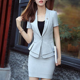 Blazer, Skirt & Pants Set - SINCOS CLOTHING WOMAN ONLINE CHEAP AFTERPAY DRESSES PLUS SIZE GOOGLE FASHION NEW STYLE HOT SEXY PARTY JUMPSUITS TOP TEES SUITS BLAZER JACKETS COATS HOODIES SWEATSHIRTS FLORAL BUSINESS