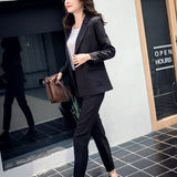 Blazer with High Waist Pants - SINCOS CLOTHING WOMAN ONLINE CHEAP AFTERPAY DRESSES PLUS SIZE GOOGLE FASHION NEW STYLE HOT SEXY PARTY JUMPSUITS TOP TEES SUITS BLAZER JACKETS COATS HOODIES SWEATSHIRTS FLORAL BUSINESS