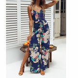 Bohemian Spaghetti Strap Jumpsuit - SINCOS CLOTHING WOMAN ONLINE CHEAP AFTERPAY DRESSES PLUS SIZE GOOGLE FASHION NEW STYLE HOT SEXY PARTY JUMPSUITS TOP TEES SUITS BLAZER JACKETS COATS HOODIES SWEATSHIRTS FLORAL BUSINESS