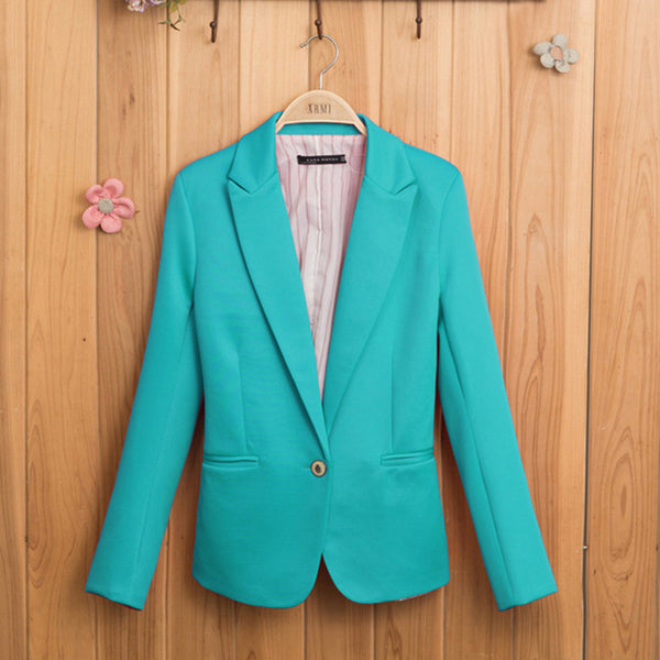 Candy-Colored Blazer Suits & Sets SINCOS Women Clothing Store Flash Sales