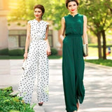 Chiffon Full Length Jumpsuit - SINCOS CLOTHING WOMAN ONLINE CHEAP AFTERPAY DRESSES PLUS SIZE GOOGLE FASHION NEW STYLE HOT SEXY PARTY JUMPSUITS TOP TEES SUITS BLAZER JACKETS COATS HOODIES SWEATSHIRTS FLORAL BUSINESS