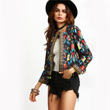 SINCOS Afterpay Clothing Cheap Women Online Dresses Jumpsuits Playsuits Tops Tshirts Iconic Princess Poly Bottoms Shorts Jeans Maxi Plus Size Clearance Sale black tribal print jacket