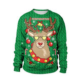 3D Unisex Men Women Ugly Christmas Sweater Vacation Santa Elf Pullover Funny Womens Men Sweaters Tops Autumn Winter Clothing - SINCOS CLOTHING WOMAN ONLINE CHEAP AFTERPAY DRESSES PLUS SIZE GOOGLE FASHION NEW STYLE HOT SEXY PARTY JUMPSUITS TOP TEES SUITS BLAZER JACKETS COATS HOODIES SWEATSHIRTS FLORAL BUSINESS