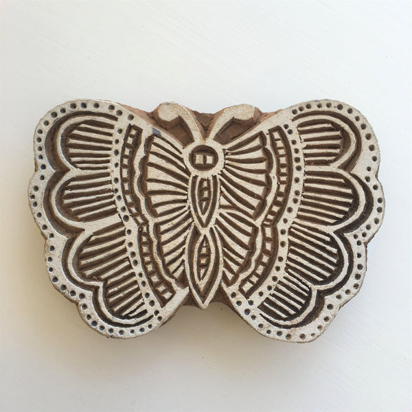 Butterfly Printing Block