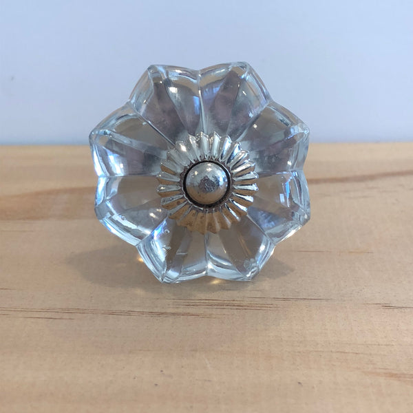 Clear Glass Flower