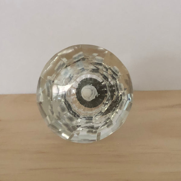 Clear Glass Knob (Large)