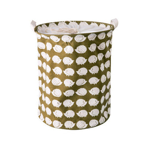 Canvas Barrel with Handles for Laundry or Toy Storage - 11 Styles