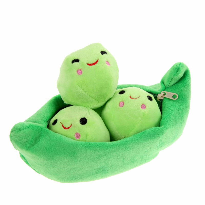 Adorable 3 Peas in a Pod - Plush Toy for Kids