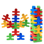 Wooden Interlocking Balance Block - Creative Play for Kids