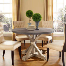Stitch Round Dining Table