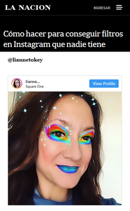 New Press! My Instagram Filters in La Nacion
