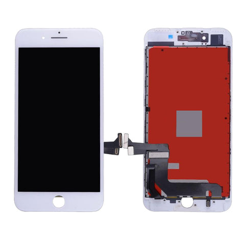 Apple iPhone Parts = For NEW iPhone 7  (4.7″) LCD and Digitizer (AM, High Quality) – white - CellularDepotUSA.store