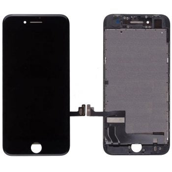 Apple iPhone Parts = For NEW iPhone 8  (4.7″) LCD and Digitizer (AM, High Quality) – black - CellularDepotUSA.store