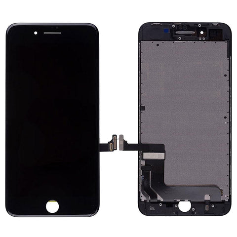 Apple iPhone Parts = For NEW iPhone 8 Plus (5.5″) LCD and Digitizer (AM, High Quality) – Black - CellularDepotUSA.store