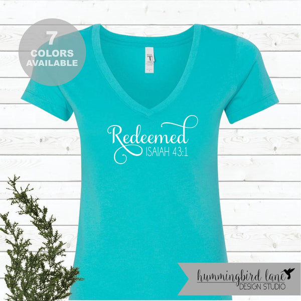 Blessed Jeremiah 17 7 Unisex Shirt Ladies Christian T-shirt ... 841d34db4e38