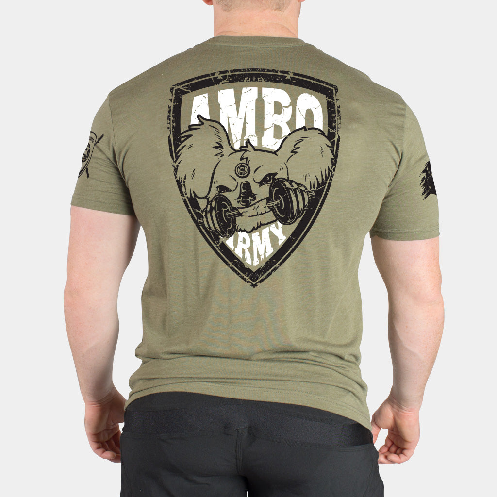 AMBO ARMY DROP BEAR MEN'S T-SHIRT - LiveSore Australia
