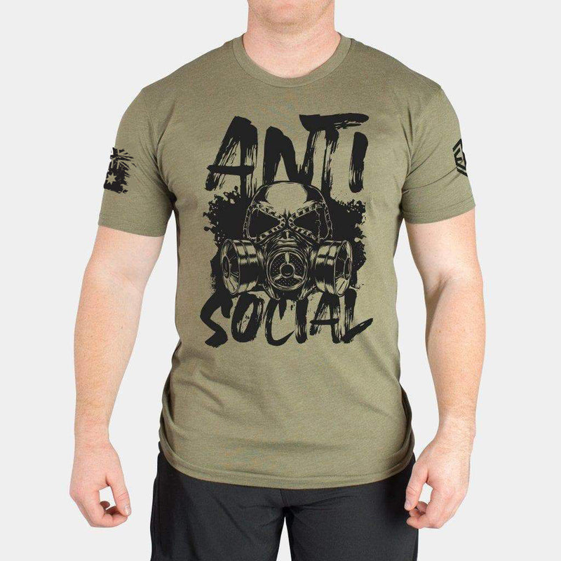ANTI SOCIAL - MEN'S T-SHIRT - LiveSore Australia