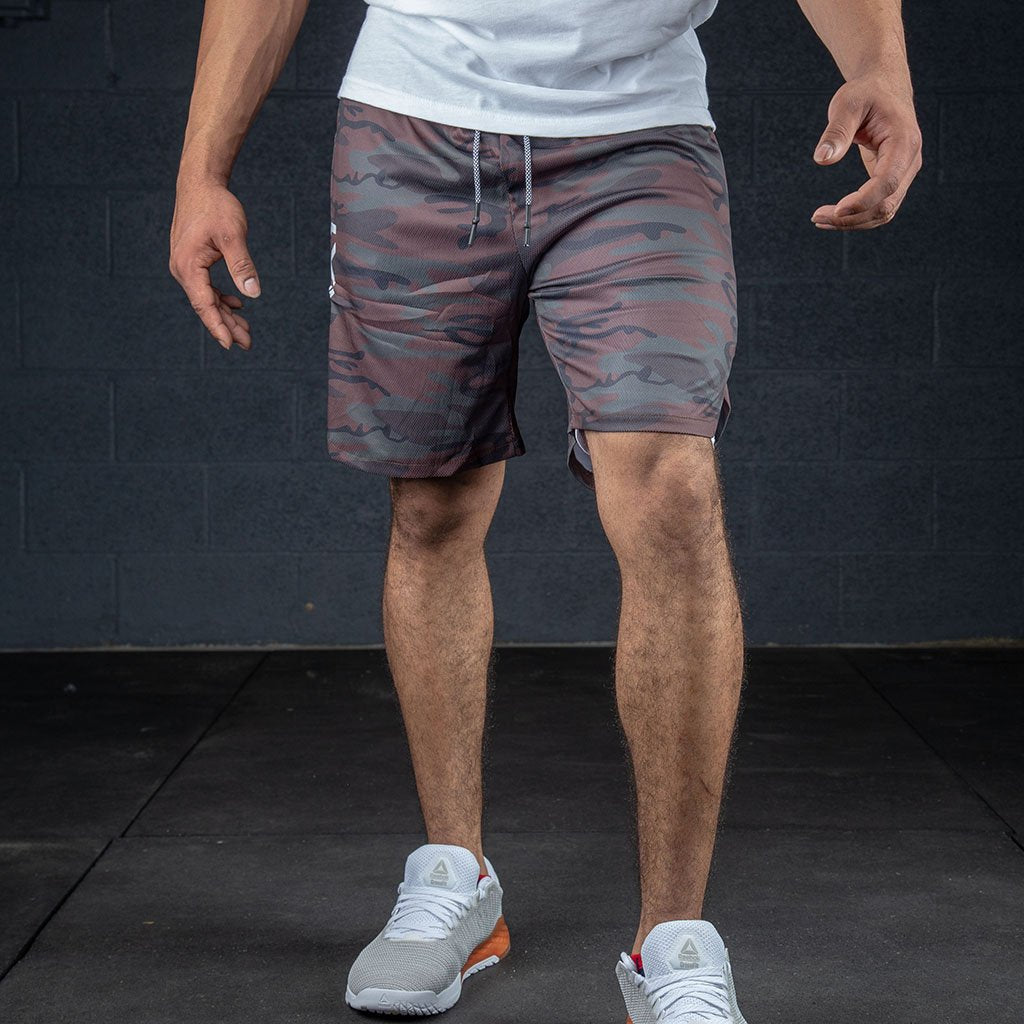 FLUX HYBRID DARK CAMO LVSR MEN'S SHORTS - BACK IN STOCK!! - LiveSore Australia