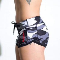BLACK ARCTIC CAMO SPEED SHORTS - LiveSore Australia