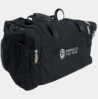 "EMBRACE THE PAIN ""BLACK OPS"" HEMP DUFFEL BAG - LiveSore Australia"