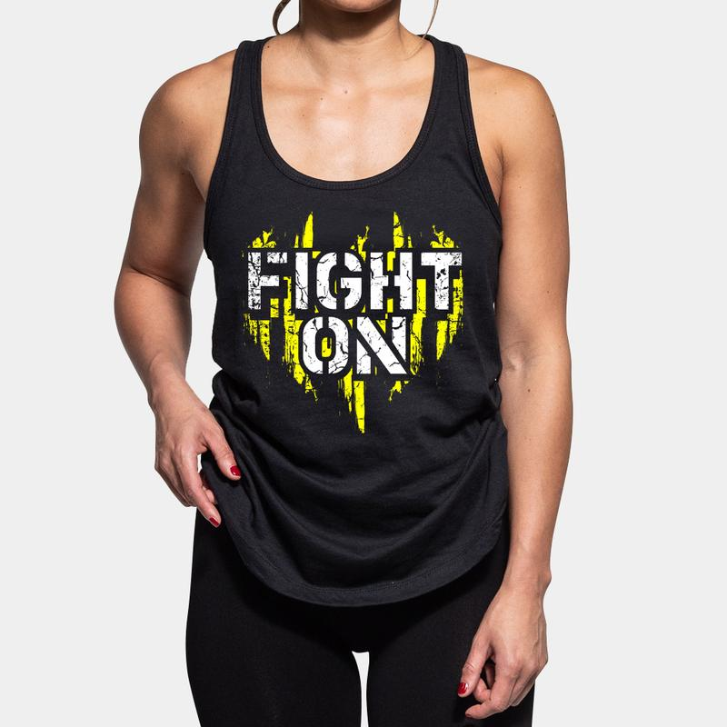 FIGHT ON TANK TOP - LiveSore Australia