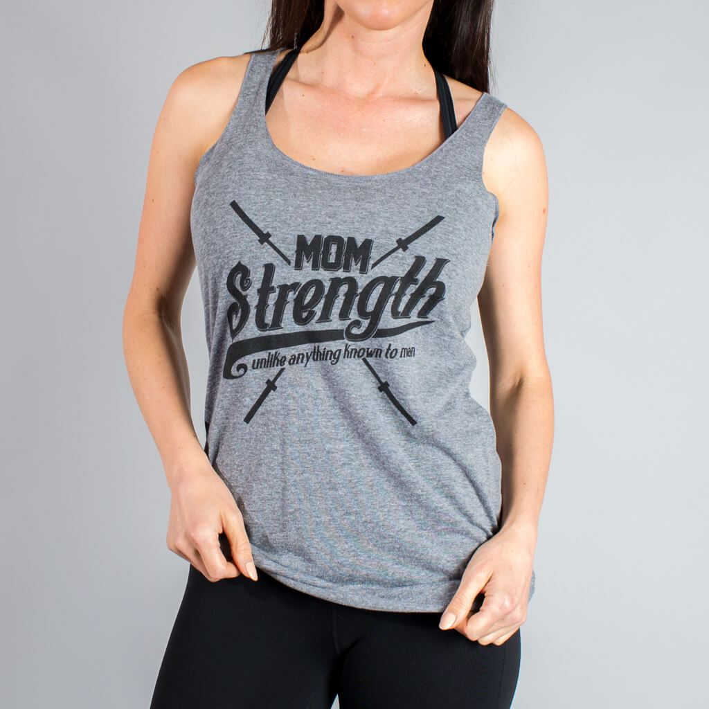 Mom Strength Tank - LiveSore Australia