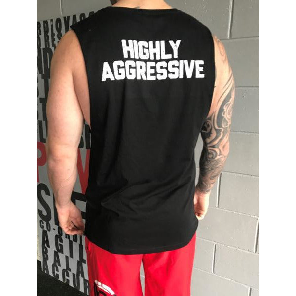 Highly Aggressive Muscle Tee - LiveSore Australia