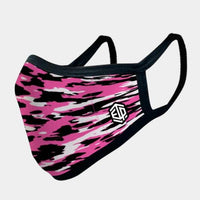 PINK CAMO 4-LAYER FACE MASKS - SOLD OUT - LiveSore Australia