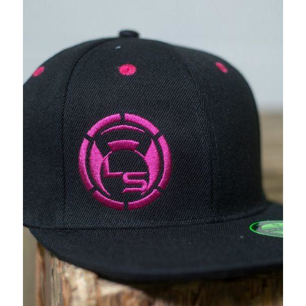 Neon Pink Snap Back Hat - LiveSore Australia