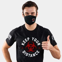KEEP YOUR DISTANCE V1 4-LAYER FACE MASKS- PREORDER - LiveSore Australia