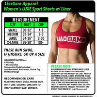 Triple Threat Sports Bra - LiveSore Australia