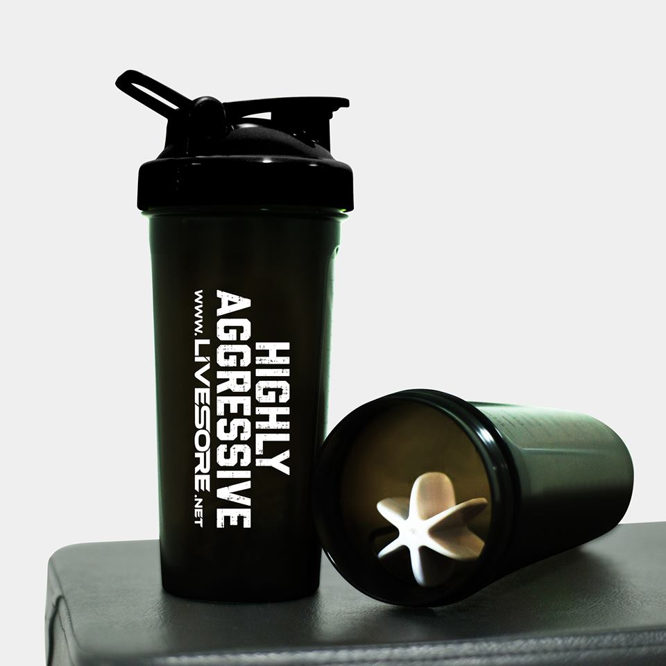 HIGHLY AGGRESSIVE SHAKER BOTTLE - LiveSore Australia