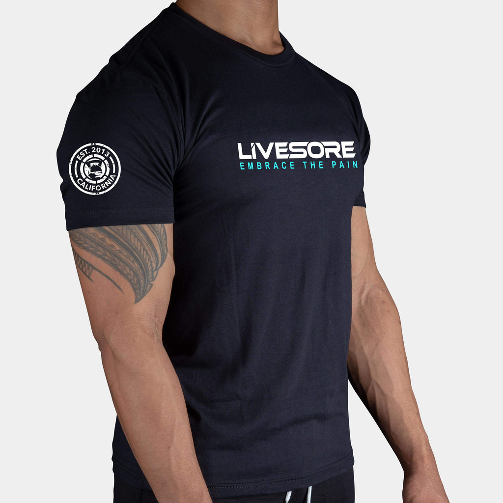 CLASSIC LIVESORE EMBRACE THE PAIN MEN'S T-SHIRT - LiveSore Australia