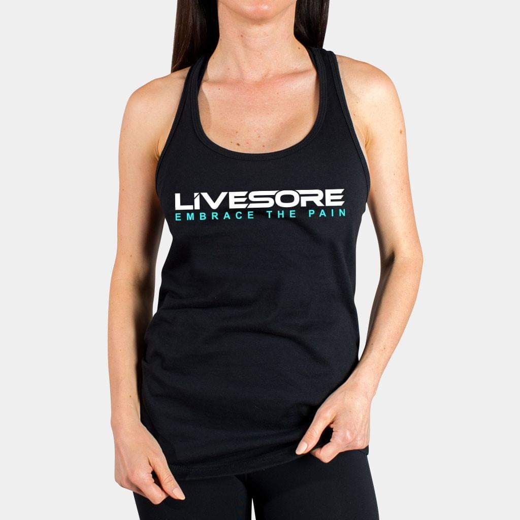 CLASSIC LIVESORE EMBRACE THE PAIN WOMEN'S TANK TOP - LiveSore Australia