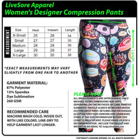 Galaxy Donut Tights - LiveSore Australia
