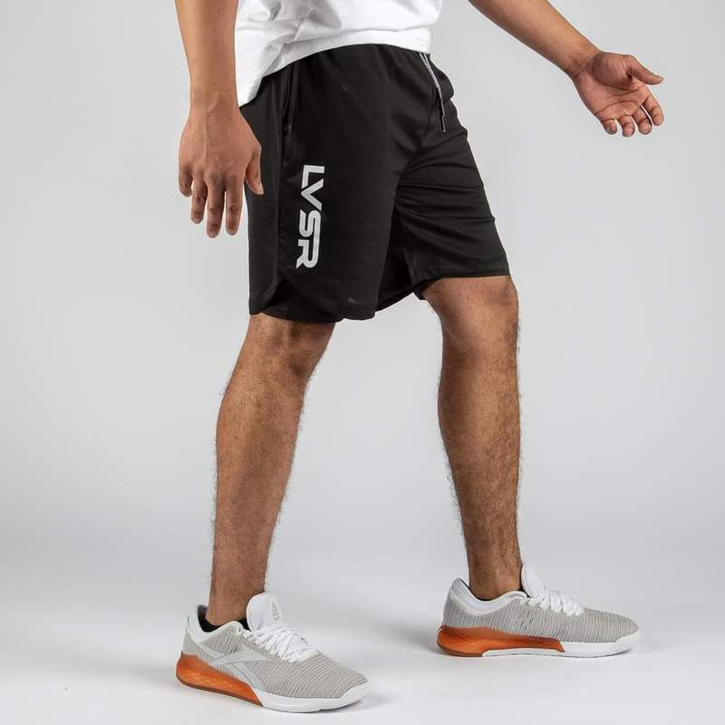FLUX HYBRID BLACK HIGHLY AGGRESSIVE SHORTS - LiveSore Australia