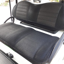 Load image into Gallery viewer, Cool Dry Covers Seat Covers Set for Club Car Tempo and Onward golf cart. Shown installed on cart.