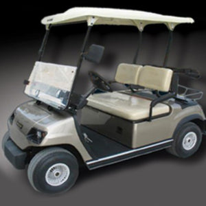 Cool Dry Covers Seat Cover Set for ECar golf cart.