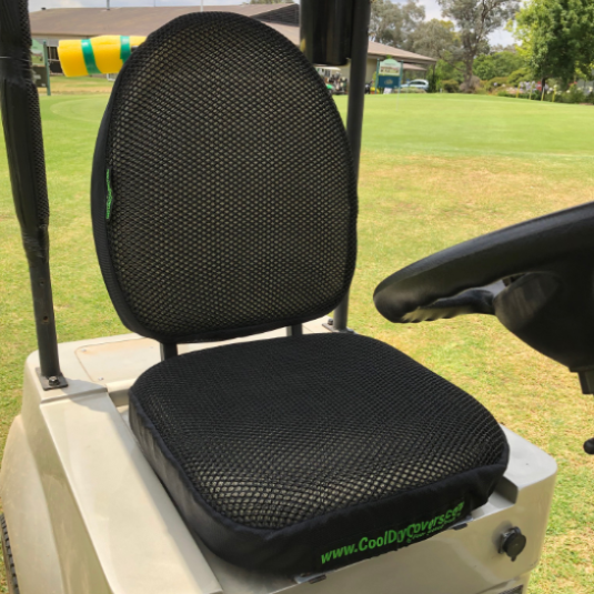 Cool Dry Covers Seat Cover Set for Single Seater Golf Buggies