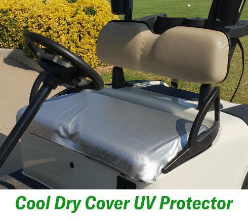 Cool Dry Covers UV Protector for golf cart seats