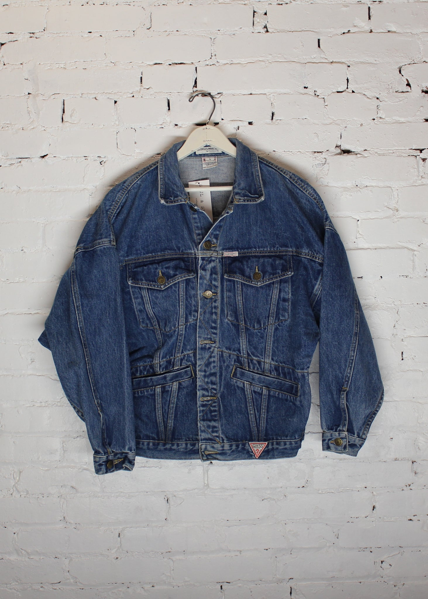Vintage Guess Denim Jacket S Soul Seam Vintage