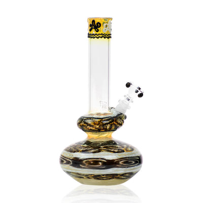 Line Worked Bubble Bong - HVY Glass