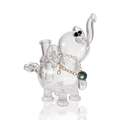 Flame Princess Glass Elephant