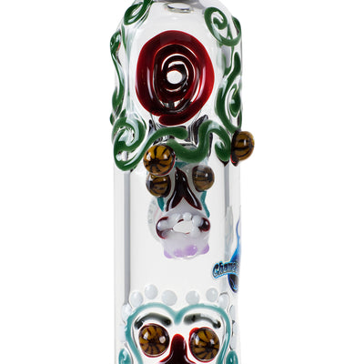 Skull Steamroller by Chameleon Glass