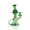 Green Stardust Dual Uptake Klien - Happy Time Glass